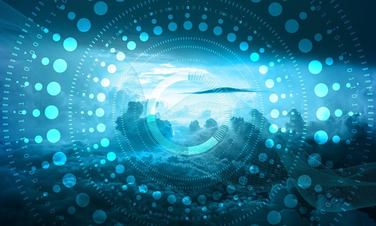 image of cloud storage security
