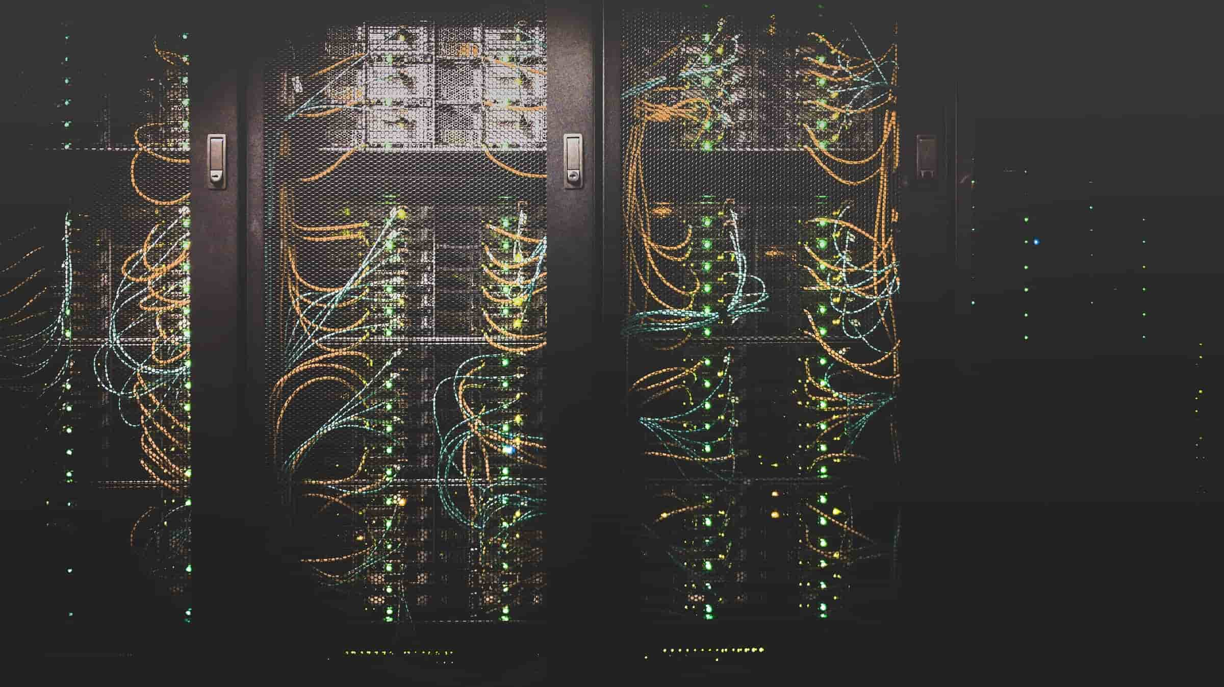 all flash array benefits; storage unit with too many wires